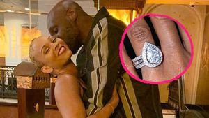XXL-Klunker: Lamar Odoms Verlobte zeigt stolz ihren Ring!