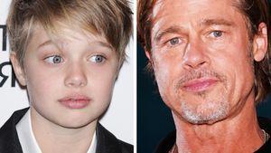 Rosenkrieg der Eltern: Shiloh entfernt Brad Pitts Nachnamen