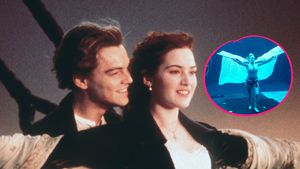 "Am ""Avatar""-Set: Kopiert Kate Winslet ihre ""Titanic""-Pose?"
