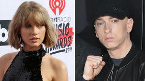Gegen Taylor Swift: Gibt es jetzt Album-Beef mit Eminem?