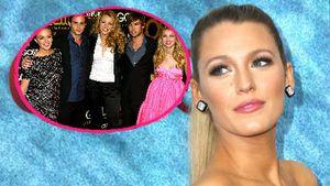 """Collage von Blake Lively und der """"Gossip Girl""""-Crew"""