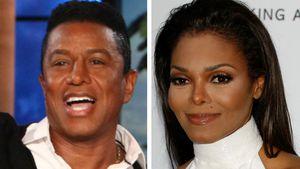 Jermaine Jackson und Janet Jackson