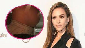 Was für eine Kugel! Jessica Alba postet nackten Baby-Bauch