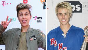 Lukas Rieger und Justin Bieber
