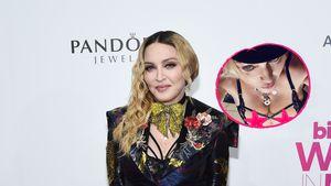 Starke Schnürung: Madonna präsentiert sich sexy in Dessous