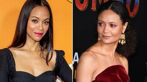 Zoe Saldanas eigene Mama verwechselt sie mit Thandie Newton!