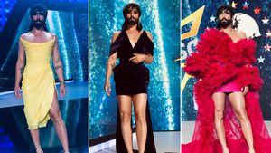 Drei heiße Outfits: Welcher Conchita-Look war der schönste?