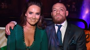 Conor McGregor und Dee Devlin bei der UFC-After-Party 2016 in Las Vegas