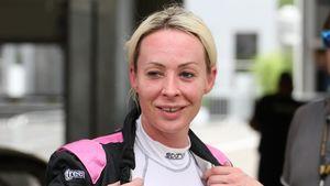 Cora Schumacher beim Deutschen Tourenwagen Cup DTC in Spielberg