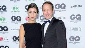 "Cosima Lohse und Wotan Wilke Möhring bei den ""GQ Men of the Year""-Awards 2016 in Berlin"