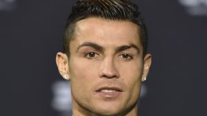Cristiano Ronaldo bei der Fifa-Weltfußballer-Wahl 2017
