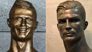 Cristiano Ronaldo: Künstler äußert sich zum Skulptur-Fail!
