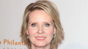 "Cynthia Nixon beim 	""Annual Rush HeARTS Education Valentine's Luncheon"""