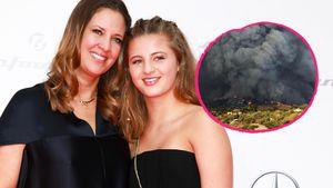 Auch Emma Schweiger & Mama Dana fliehen vor Waldbränden