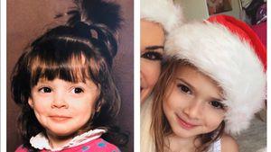 Wie Zwillinge: So krass ähneln sich Katze und Tochter Sophia