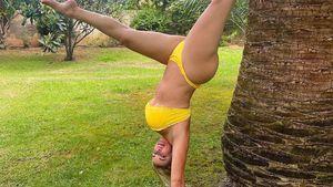 Bikini-Handstand: Dani Katzenberger trotzt der Schwerkraft!