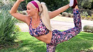 Stretch-Katze: Durch Yoga lässt Daniela die Kilos purzeln!
