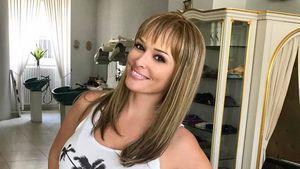 Echt getraut? Daniela Katzenberger mit braunen Haaren & Pony