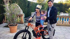 Daniela Katzenberger mit Ehemann Lucas Cordalis unfd Tochter Sophia