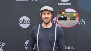 Seltener Anblick: Dax Shepard postet Foto seiner zwei Kinder