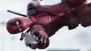 """Deadpool"" mit Ryan Reynolds"