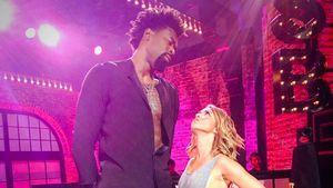 DeAndre Jordan und Sarah Hyland im Größenvergleich bei Lip Sync Battle