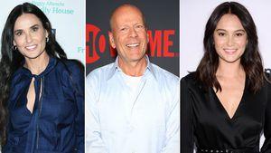 Warum ist Bruce Willis bei Ex Demi statt bei seiner Ehefrau?
