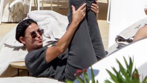 Gelenkig wie eh und je: Hier stretcht sich Demi Moore (58)