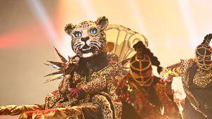 """Der """"The Masked Singer""""-Leopard kriecht auf die Bühne"""