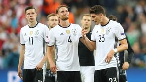 DFB-Team bei der EM 2016
