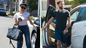 Diane Kruger und Joshua Jackson steigen in ihr Auto ein