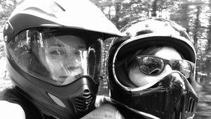 Erste Spritztour nach Baby: Diane Kruger wieder auf Motorrad