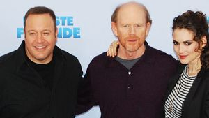 Kevin James, Winona Ryder und Ron Howard