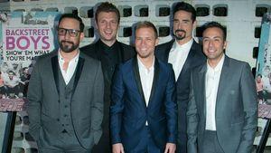 Backstreet Boys bei der Premiere ihrer Doku