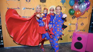 Superhelden-Familie! Kolenitchenkos feiern für guten Zweck