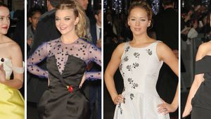 Jennifer Lawrence, Jena Malone, Natalie Dormer und Daisy Lowe