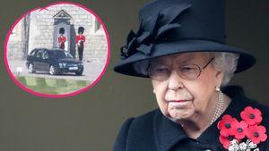 Nach Trauerfeier: Queen fährt mit Hunden zum Spaziergang