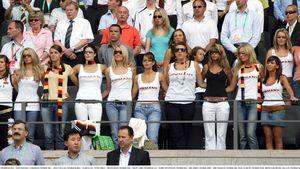 Die deutschen Spielerfrauen bei der WM 2006 in Deutschland