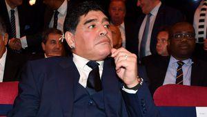 Sorge um Diego Maradona: Wegen Magenblutung im Krankenhaus