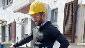 Wegen Hausrenovierung: TV-Star Domenico wohnt im Hotel Mama