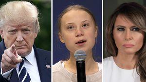 Trump-Greta-Beef: Melania distanziert sich von ihrem Ehemann
