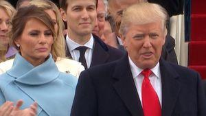 Donald Trump und Melania Trump bei der Amtseinführung