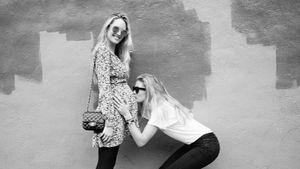 Baby-Bauch-Bussi: Doutzen Kroes verwöhnt BFF Candice