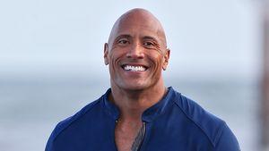 """Dwayne Johnson im März 2016 bei den Dreharbeiten zu """"Baywatch"""" in Miami"""