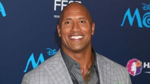 "Dwayne ""The Rock"" Johnson bei der Premiere von Moana in Los Angeles"