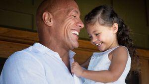 So süß gratuliert The Rock seiner Tochter zum Geburtstag