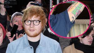 Für Tochter Lyra: Ed Sheeran ließ sich neues Tattoo stechen