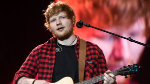 Ed Sheeran bim Glastonbury-Festival in Pilton