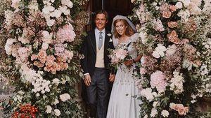 Auf diesem Hochzeits-Pic ist Beatrice' Stiefsohn zu sehen!