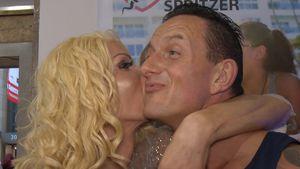 Trotz Krankheit: Edona James & Porno Klaus flirten auf Venus